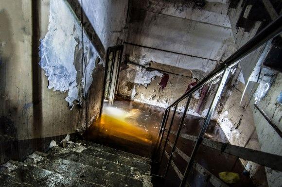 Laiptai žemyn