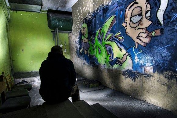 Prie graffiti