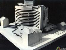 Pirmasis 1977 m. projekto variantas