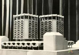 Antrasis 1977 m. projekto variantas