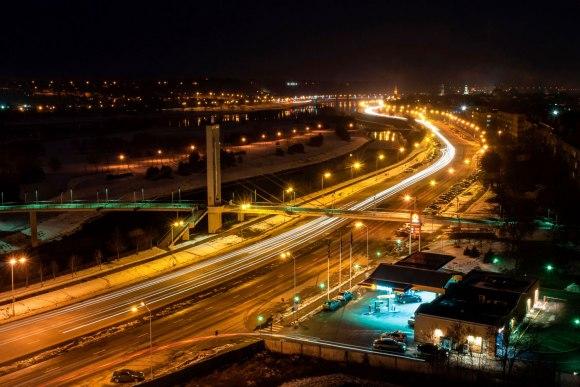 Tiltas ir Mindaugo gatvė