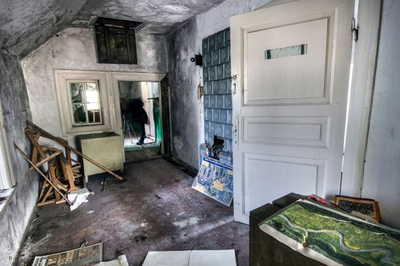 Koridorius trečiame aukšte