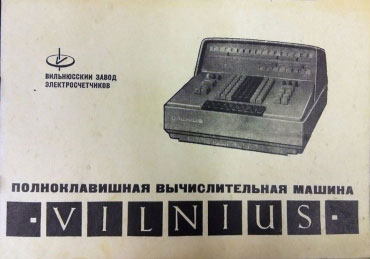 Skaičiavimo mašina Vilnius