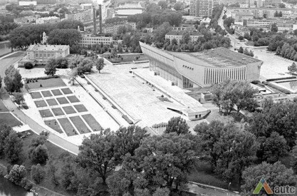 Sporto rūmų kompleksas po pastatymo