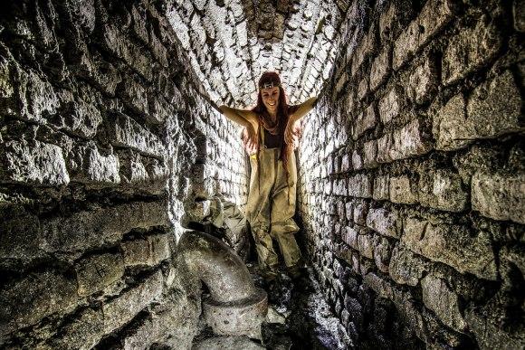 Senamiesčio kolektorius - tunelis