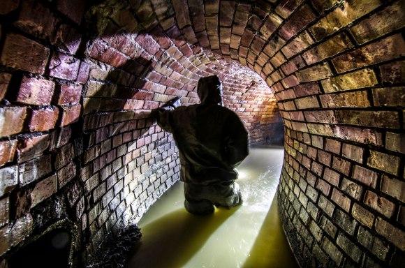 Senamiesčio kolektorius - tunelio posūkis