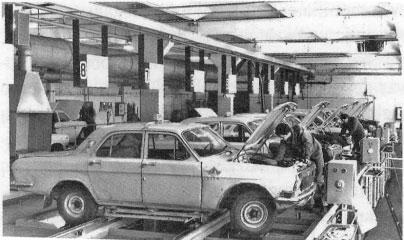 Taksi parko techninio aptarnavimo stotis, 1984.06.29, V.Charinas
