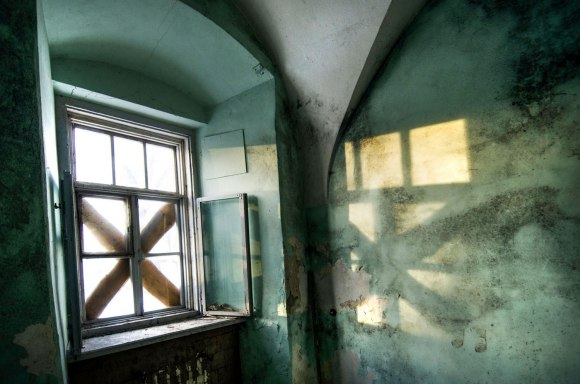 Užkaltas langas