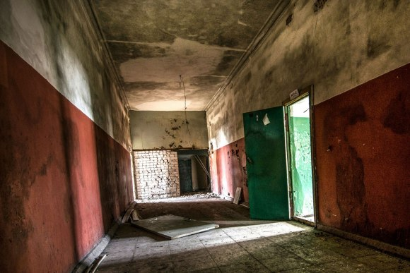 Koridoriaus pabaigoje
