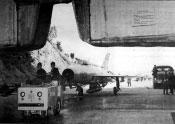 Željava oro bazė - sugrįžtantis lėktuvas