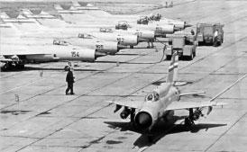 Željava oro bazė - lėktuvai