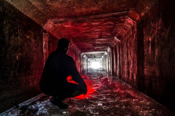 Užšalęs tunelis